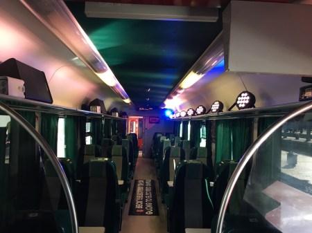 becks electric train - electric castle