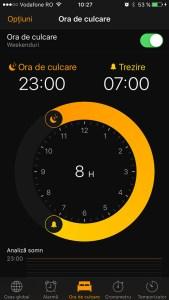 ora de culcare - ios 10 - 3