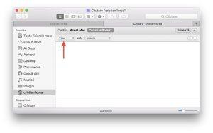 cauta fisierele care ocupa mult spatiu pe disc - macbook 2