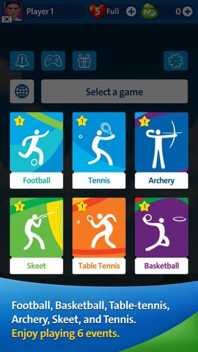 jocuri noi pentru iPhone - Rio 2016 Olympic Games 3