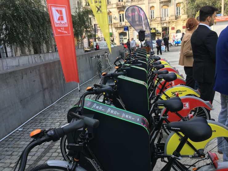 I'Velo Urban, primul proiect de bike-sharing automatizat din București