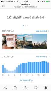 statistici instagram - profil business 4