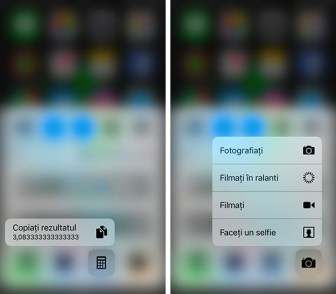 3d touch - iphone - centru de notificari