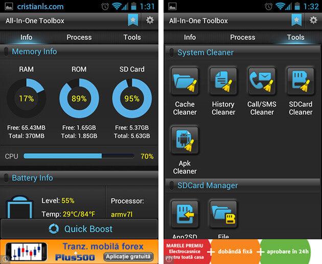 Optimizare Android