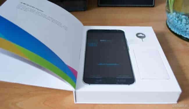 Meizu MX5 unboxing