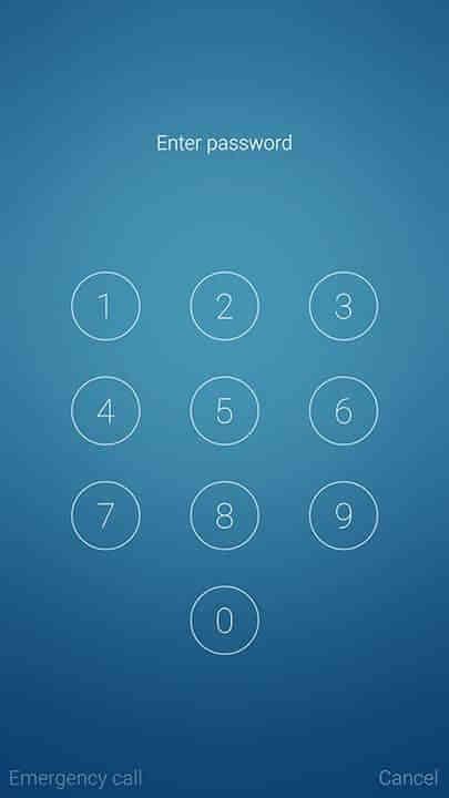 Flyme OS unlock PIN