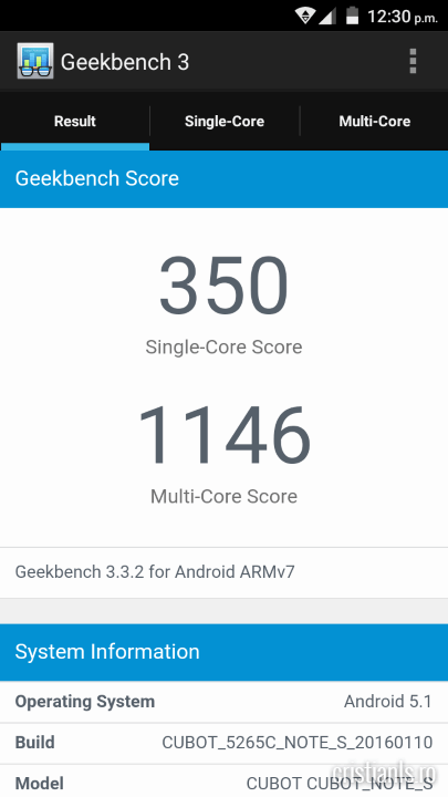 Benchmarks Cubot Note S (6)