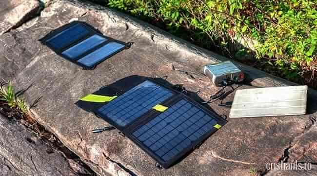 incarcator solar portabil | foto Eric Johnson