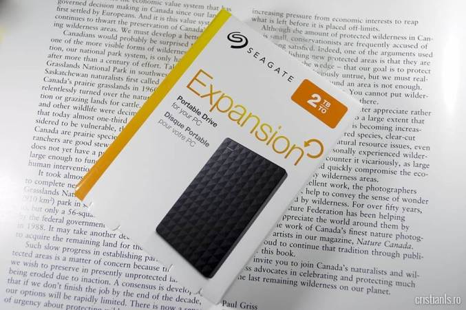 Hard disk extern Seagate Expansion Portable