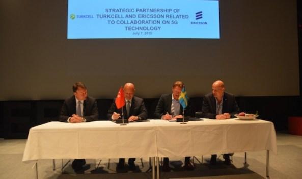Ericsson si Turkcell