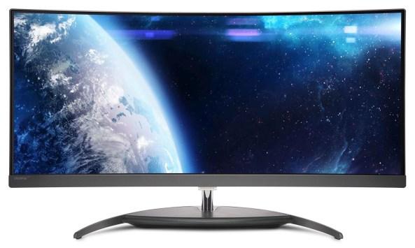 Philips_primul monitor curbat