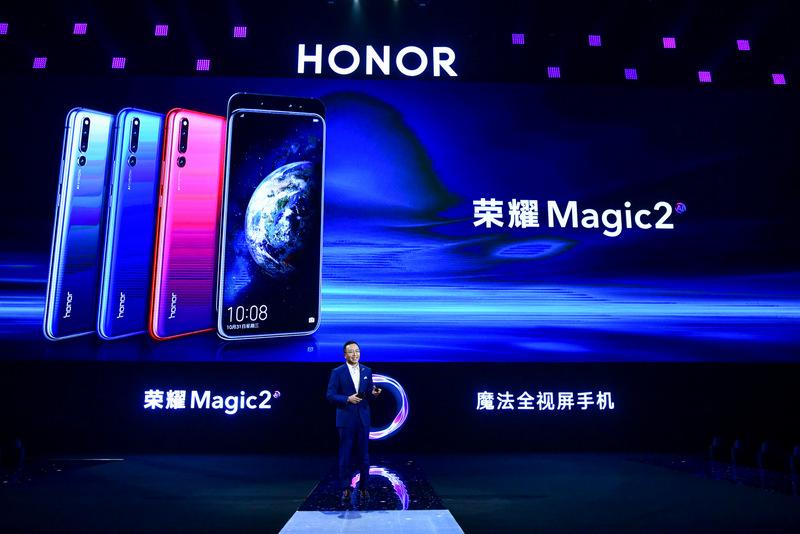 George Zhao, Președintele Honor a prezentat Honor Magic2 în China