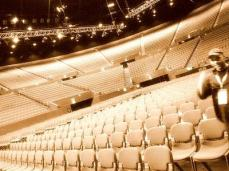 the great Sydeny Entertainment Centre....hall