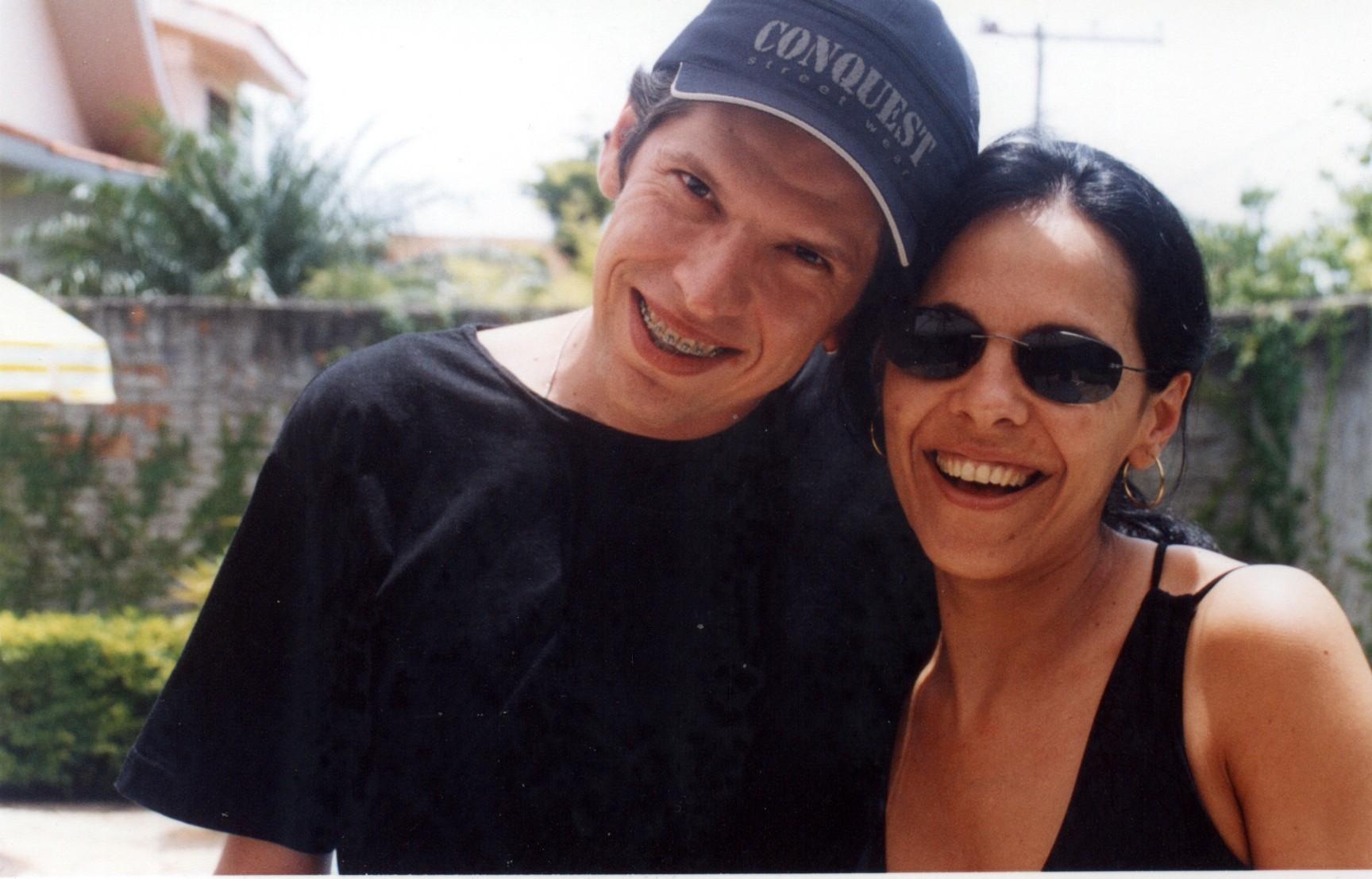 Christian e Tininha...