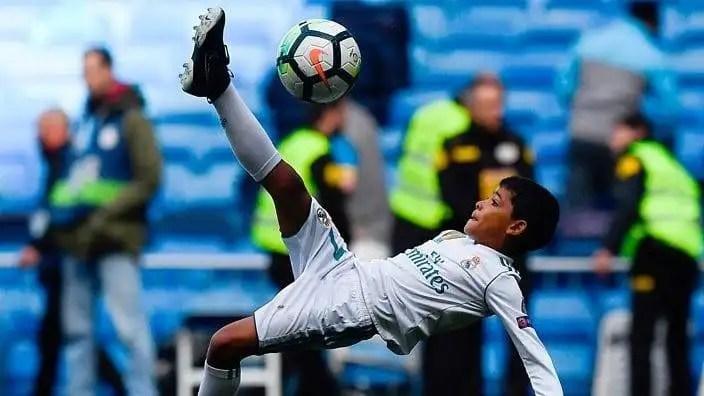 About Cristiano Ronaldo Jr