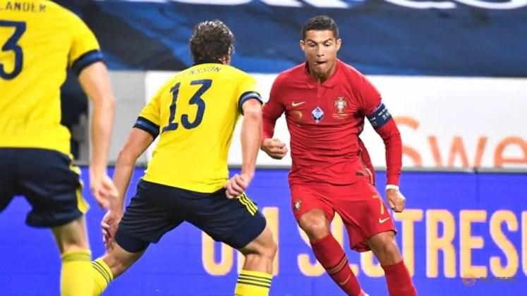 Sweden 0-2 Portugal: Ronaldo Nets 100th & 101st International Goals In  Stunning Brace