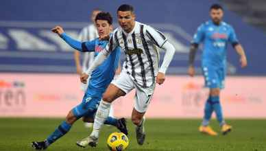 Cristiano Ronaldo Breaks Football's All-Time Goals Record Vs Napoli