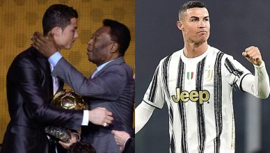 Cristiano Ronaldo Sends Pele Emotional Message After Smashing His Record