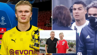 Erling Haaland's Father Reveals The Youngster 'Copies Cristiano Ronaldo' Diet Plan