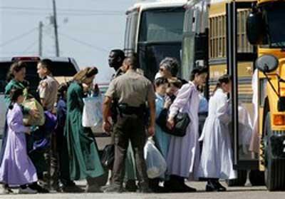 Niños de la secta polígama quedarán bajo custodia de Texas