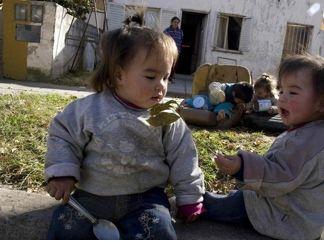 Aumenta el número de niños hambrientos en Argentina