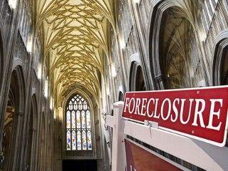 Embargos hipotecarios a iglesias alcanza cifras récord