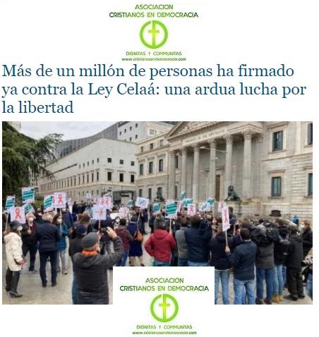 La sociedad española, contra las leyes ideológicas del PSOE