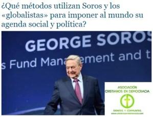 Asi impone Soros agenda globalista