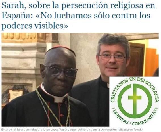 La iglesia, perseguida desde su origen, ve acrecentada la persecución en España.