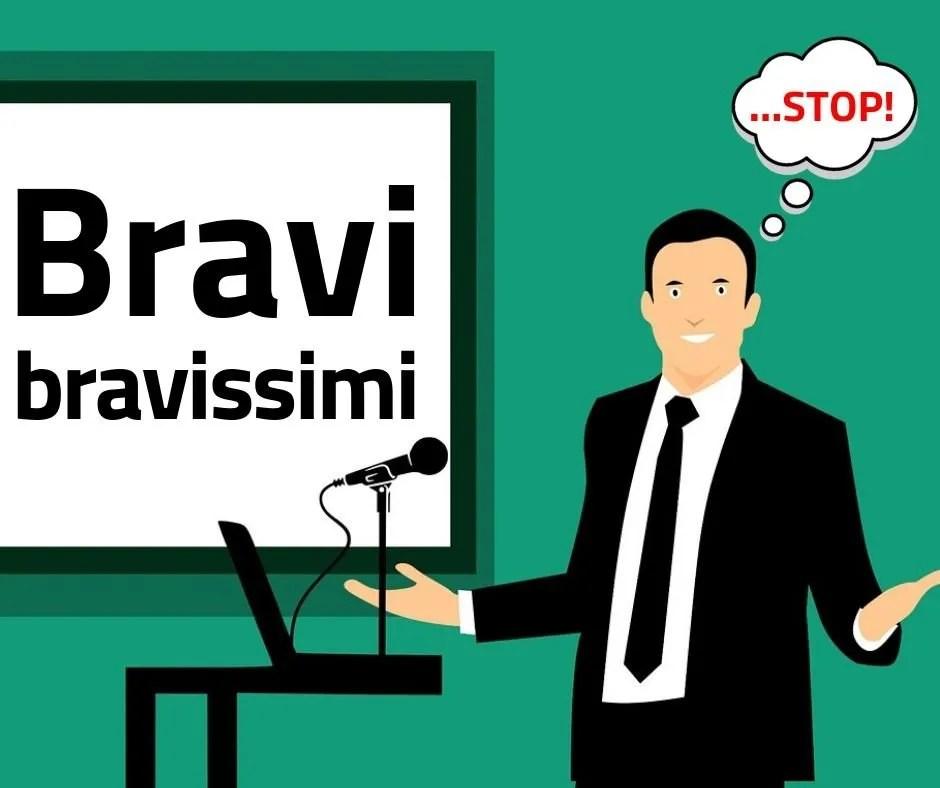 Bravo Bravissimo STOP | Cristian Parrella