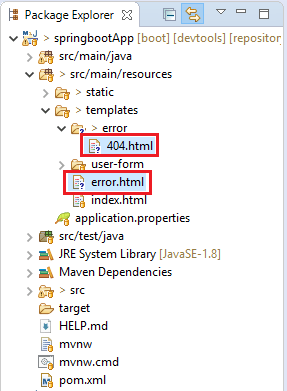 Error File Structure
