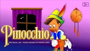 Pinocchio @ Teatru la Cinema (Cinema City din AFI Cotroceni) Bulevardul General Vasile Milea 4, 061344 București | București | Municipiul București | România