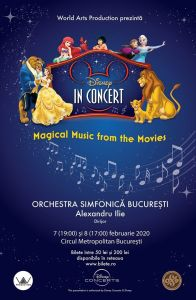 Disney in Concert - Magical Music From The Movies @ Circul Metropolitan de Stat | București | Municipiul București | România
