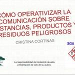 Cómo operativizar la comunicación sobre contaminantes orgánicos persistentes y otras sustancias, productos y residuos peligrosos