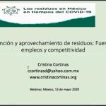 Webinar -Los residuos en México en tiempos de COVID-19