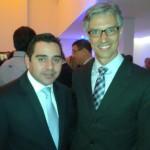 Joao Tomaz da Cruise Lines Association do Brazil e o presidente da Abremar, Marco Ferraz