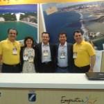 O secretário de Turismo do RN, Ruy Gaspar recebeu ao lado da presidente da Emprotur, Ana Maria Costa Valter Patriani da CVC e equipe
