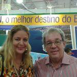 Eu e o amigo jornalista Antonio Roberto Rocha
