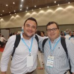 Representante da MGM de Curitiba e Marcelo Naliato do Marsol