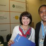 Jeanine Pires e Claudio Junior