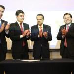 Felipe Carreras, Camilos Simões, Eduardo Henrique Alves e Geraldo Júlio