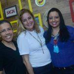 Com os amigos jornalistas blogueiros baianos, Paulo de Tarso e Silvana Pinto