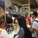 Degustação de caipirinha no stand do RN