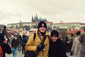 2001.05 et la Tchéquie Prague quelle beauté...