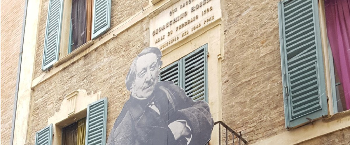 Pesaro, la casa natale di G. Rosini
