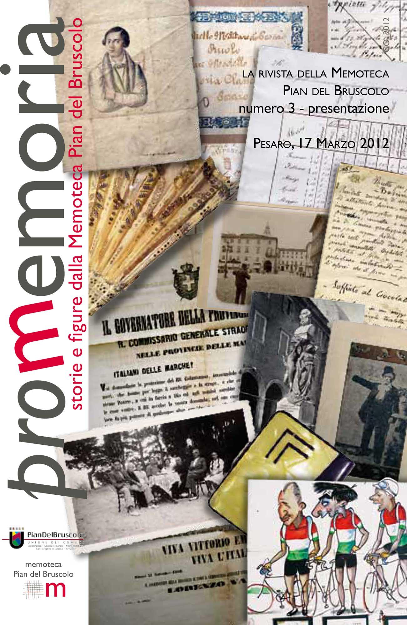 Memoteca Pian del Bruscolo - 2012