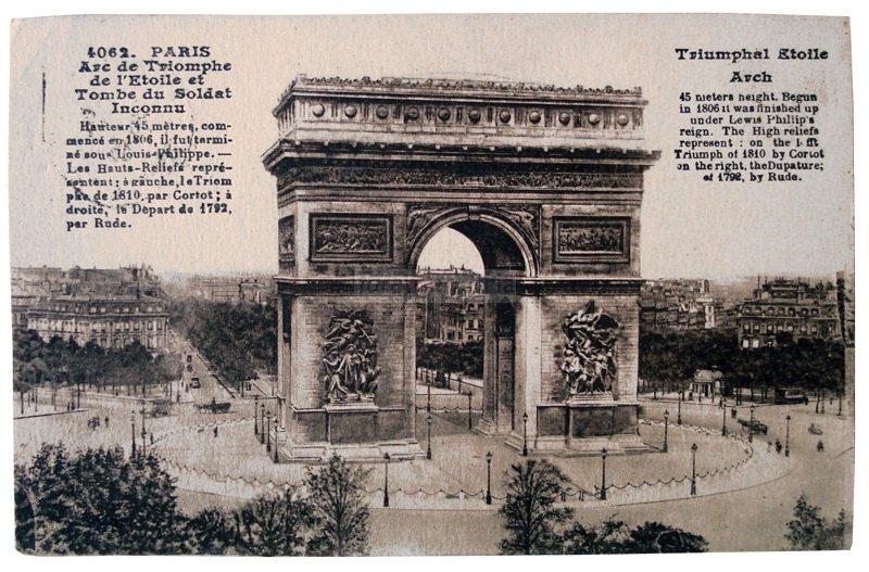 Parigi, 1939. Cartolina inviata da Prima Paganelli a Emilia Barbanti Badioli