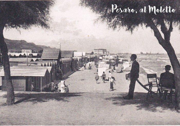 Pesaro, cartolina anni '40 del '900