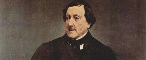 Francesco Hayez - Ritratto di Gioachino Rossini