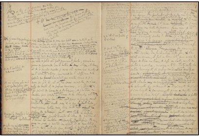 """Marcel Proust, """"La strada di Swann"""", prima stesura"""